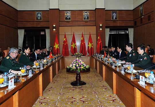 Bộ trưởng Quốc phòng Việt - Trung trao đổi về tranh chấp trên biển - 3