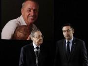 """Bóng đá - Chủ tịch Real đích thân đến Nou Camp """"viếng"""" Cruyff"""
