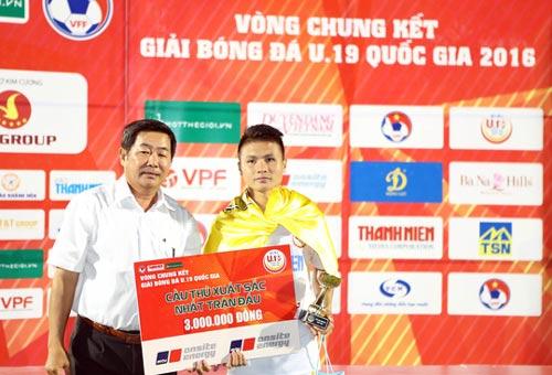 """Quang Hải: """"Vua"""" bóng đá trẻ - 1"""