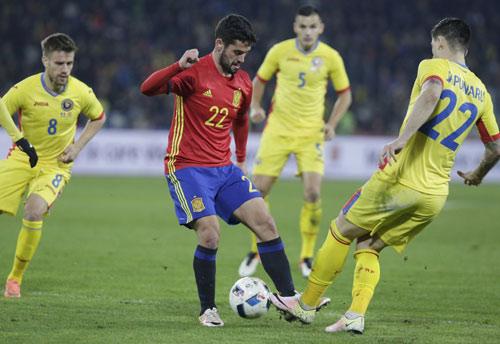 Video Romania vs Tây Ban Nha - 1