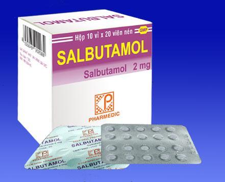 Tạm dừng cấp phép nhập khẩu Salbutamol - 1