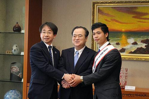 """Công Phượng được bổ nhiệm làm """"Đại sứ"""" ở Nhật Bản - 1"""