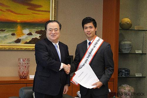 """Công Phượng được bổ nhiệm làm """"Đại sứ"""" ở Nhật Bản - 4"""