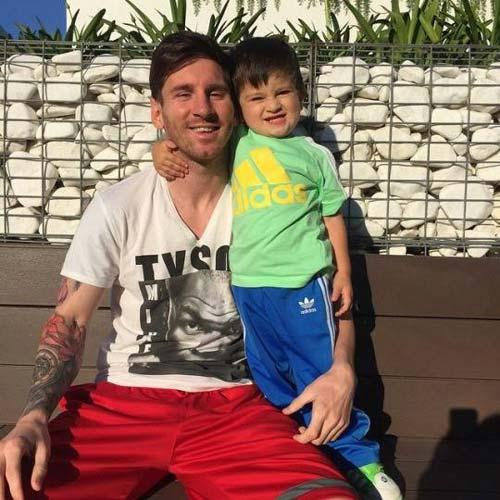 Ronaldo - Messi dạy con: Khổ luyện và bản năng - 3