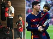 Bóng đá - Ronaldo - Messi dạy con: Khổ luyện và bản năng