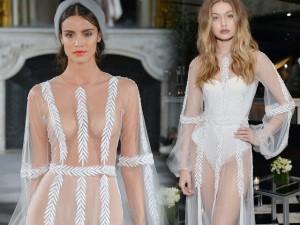 Váy hot nhất tuần: Đầm mỏng tang của Gigi Hadid