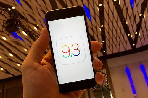 iOS 9.3 tiếp tục khiến iPhone 6S bị treo - 1