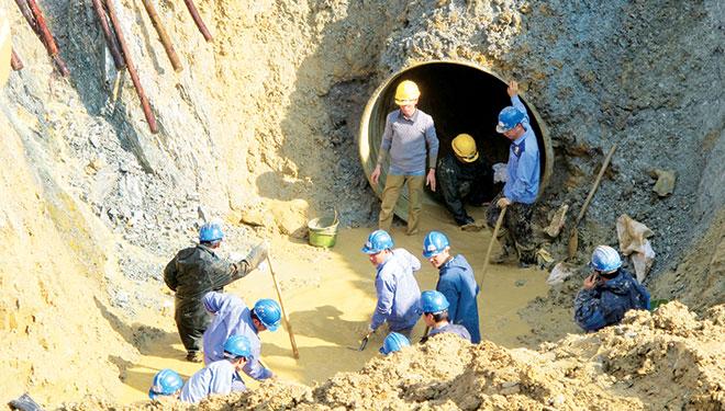 Dự án nước sông Đà 2: Chưa ký hợp đồng với nhà thầu TQ - 1