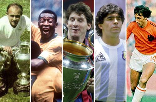 Đội hình vĩ đại nhất lịch sử bóng đá - 1