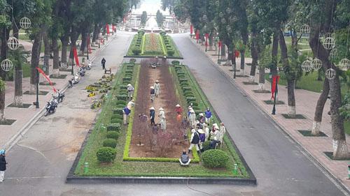 Hà Nội giải thích việc xây bãi đỗ xe ngầm CV Thống Nhất - 1