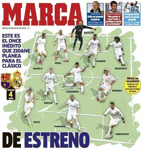 Real: Zidane đã chốt đội hình cho El Clasico - 1