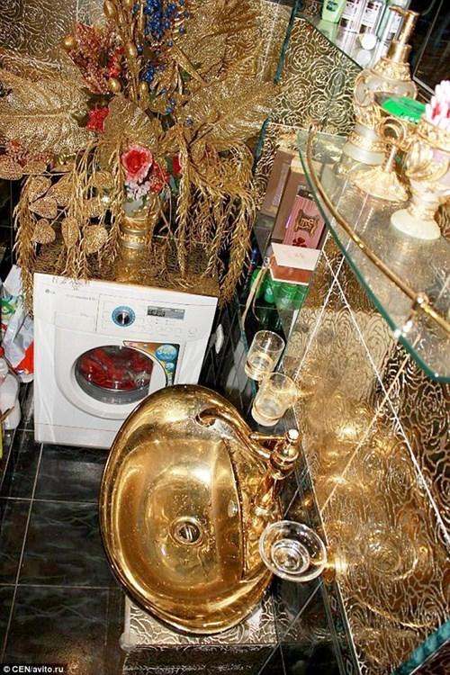 Căn hộ giá 2 tỉ đồng dát vàng từ phòng khách đến toilet - 5
