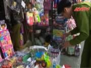Video An ninh - Phát hiện 4 cửa hàng bán đồ chơi trẻ em không nguồn gốc