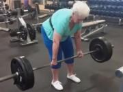 Thể thao - Cụ bà 78 tuổi nâng tổng 300kg dễ như ăn kẹo