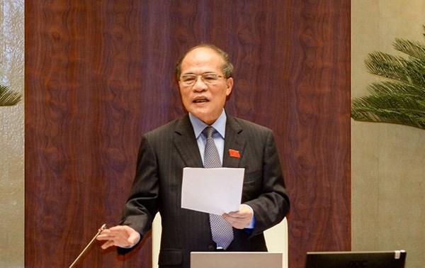 Hôm nay, miễn nhiệm chức vụ Chủ tịch QH với ông Nguyễn Sinh Hùng - 1