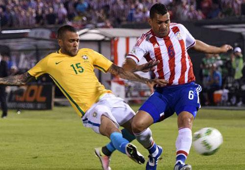 Video Brazil vs Paraguay - 1