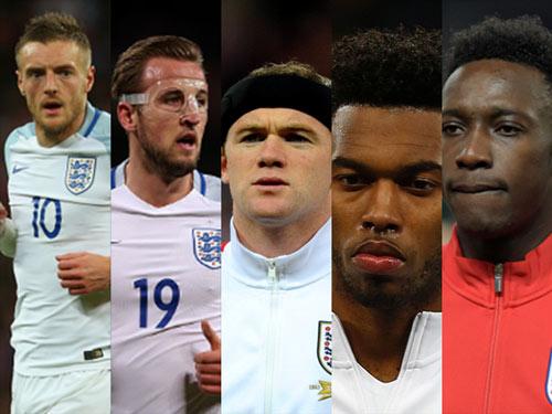 Vardy rực sáng, Rooney nguy cơ người thừa ở Euro 2016 - 2