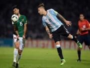 Bóng đá - Argentina - Bolivia: Chạm mốc lịch sử