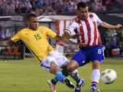 Bóng đá - Paraguay – Brazil: Thoát hiểm trong gang tấc