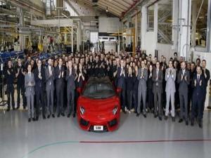 Lamborghini Aventador đạt cột mốc xuất xưởng 5.000 chiếc