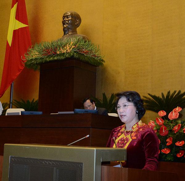 Bà Nguyễn Thị Kim Ngân trở thành nữ Chủ tịch QH đầu tiên - 3