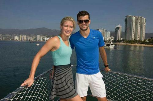Chia tay Sharapova, Dimitrov cặp kè hoa khôi quần vợt? - 1