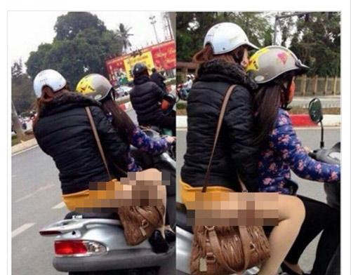 Sự thật sau hình ảnh thiếu nữ Việt không mặc quần - 7