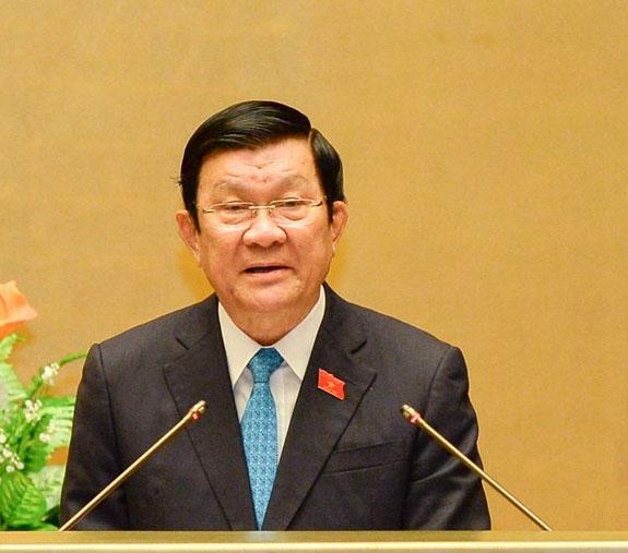 Ông Trương Tấn Sang thôi giữ chức Chủ tịch nước - 1