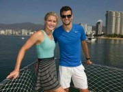 Thể thao - Chia tay Sharapova, Dimitrov cặp kè hoa khôi quần vợt?