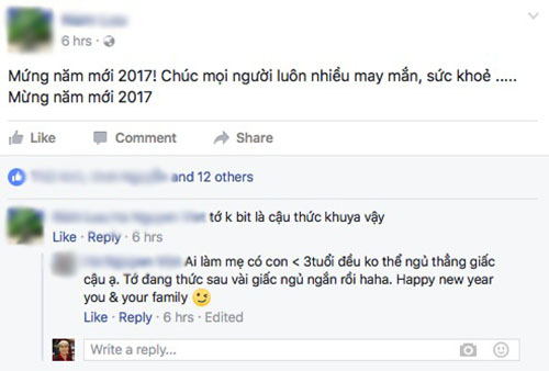 """Cộng đồng mạng nô nức """"Chúc mừng năm mới 2017"""" - 4"""