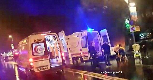 Thổ Nhĩ Kỳ: Xả súng đêm giao thừa, 35 người bị bắn chết - 1