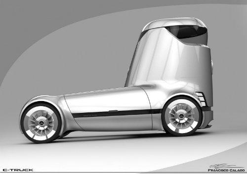 Mercedes-Benz E-Truck thiết kế như vật ngoài hành tinh - 4