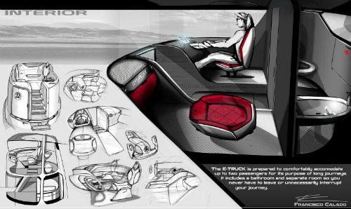 Mercedes-Benz E-Truck thiết kế như vật ngoài hành tinh - 2