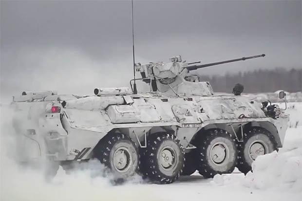 Nga ra mắt xe tăng robot có thể biến thành bom di động - 1