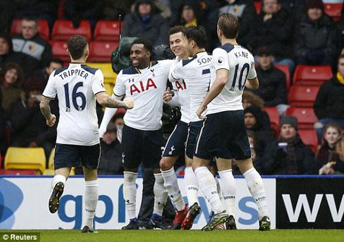 Watford – Tottenham: Hiên ngang bay vào top 4 - 1