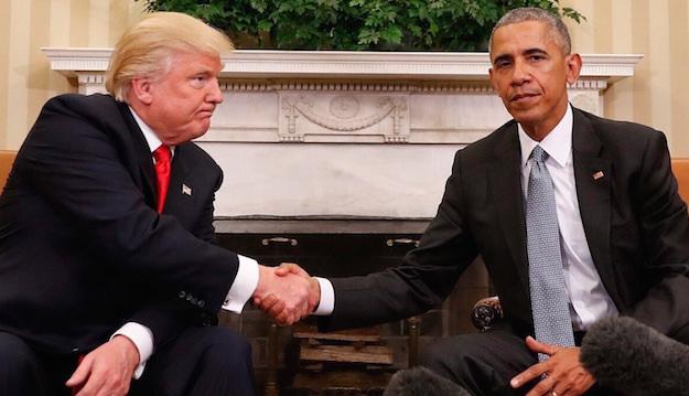 Đối đầu Trump-Obama chưa từng có tiền lệ trong lịch sử Mỹ - 1
