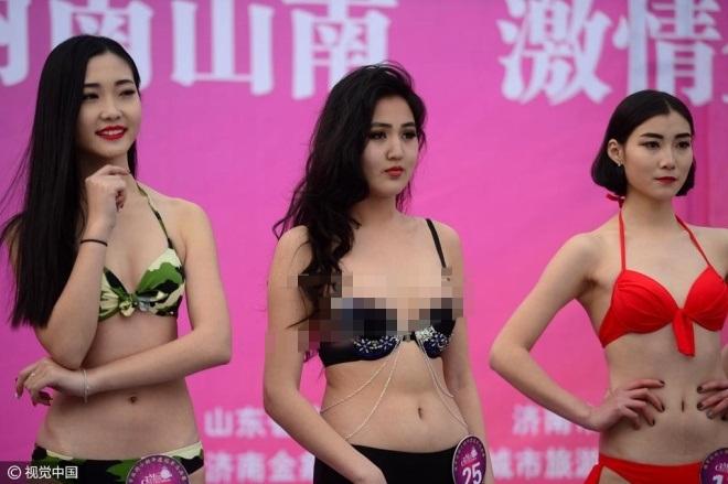TQ: ''Tái mặt'' với dàn mỹ nữ diện bikini giữa trời tuyết - 3