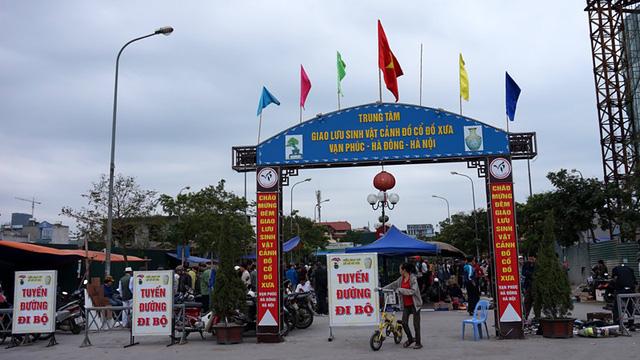 """Ngày đầu năm, hàng trăm người đi chợ """"lục lọi"""" kỷ niệm - 1"""