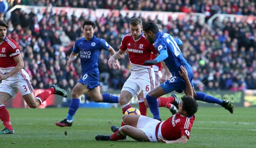 Middlesbrough - Leicester: Hồi hộp 7 phút bù giờ - 1