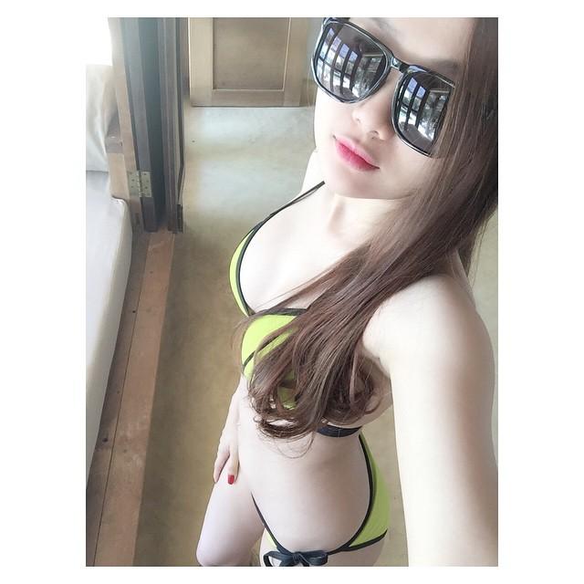 Em gái hot girl của ca sĩ Quang Vinh xinh đẹp khó ngờ - 5