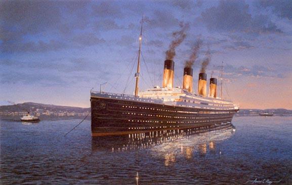 Tàu Titanic huyền thoại bị đắm vì lửa cháy 1.000 độ? - 1