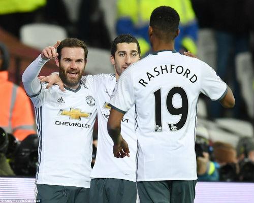 """MU – Mourinho thắng 6 trận: """"Quỷ đỏ"""" đích thực là đây - 1"""