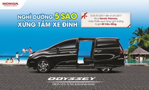 Honda Việt Nam công bố giá mới hấp dẫn cho Accord từ tháng 1/2017 - 5