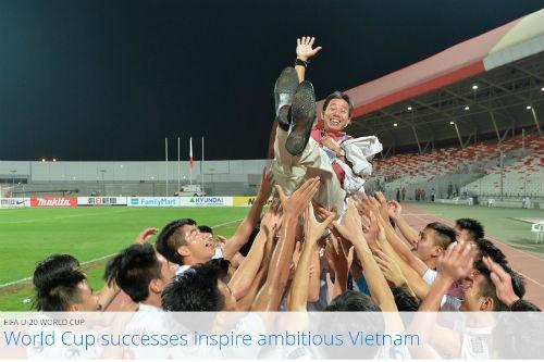 FIFA tôn vinh bóng đá Việt Nam với kỳ tích World Cup - 2