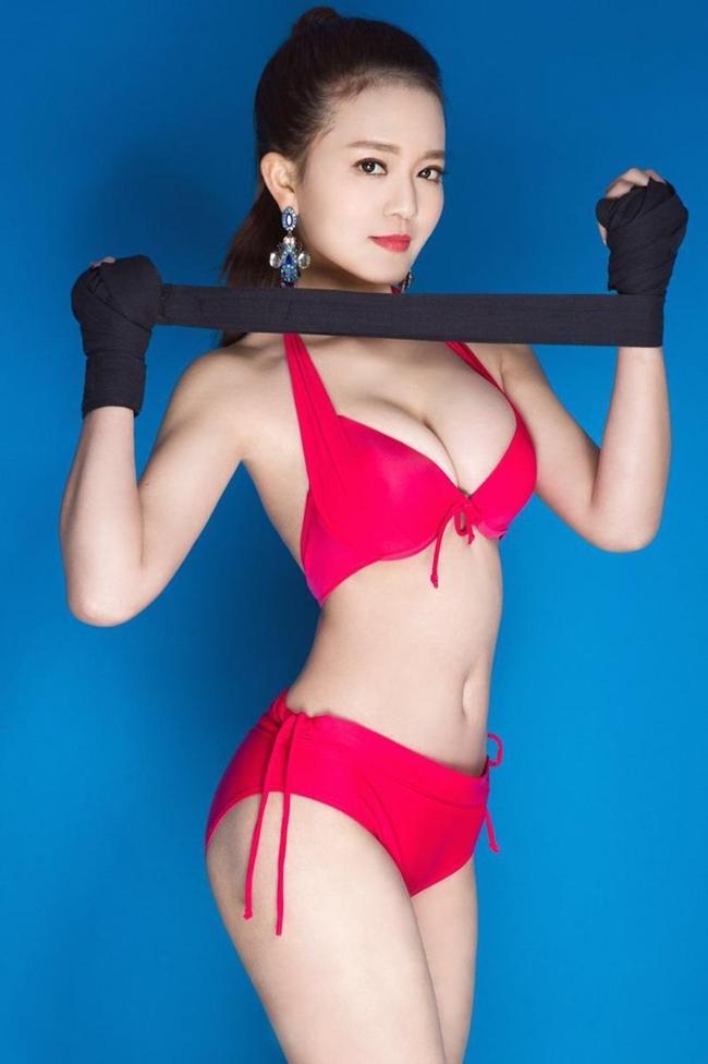 Hot girl boxing sinh ngày 22.4.1993 tại Hồ Nam, Trung Quốc. L