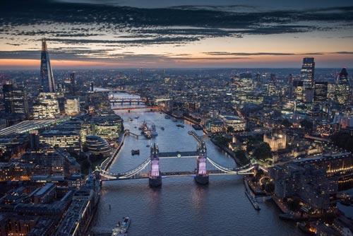 Ngắm nhìn London tuyệt đẹp từ trên cao - 1