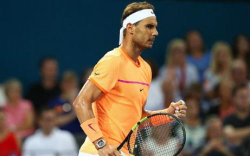 Nadal - Dolgopolov: Ra quân mỹ mãn (Vòng 1 Brisbane International) - 1