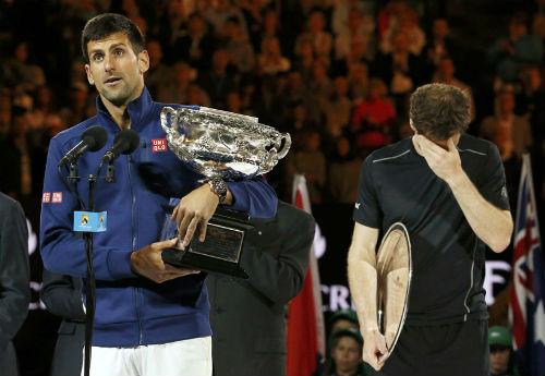 """Australian Open 2017: Djokovic là """"gai trong mắt"""" Murray - 1"""