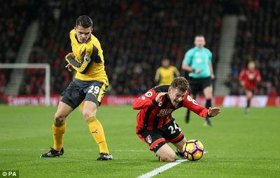 Chi tiết Bournemouth - Arsenal: Vỡ òa cảm xúc (KT) - 4
