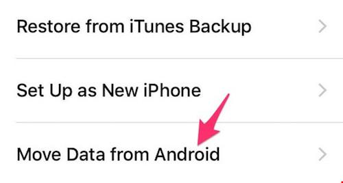 Cách sao lưu dữ liệu từ smartphone Android sang iPhone - 1